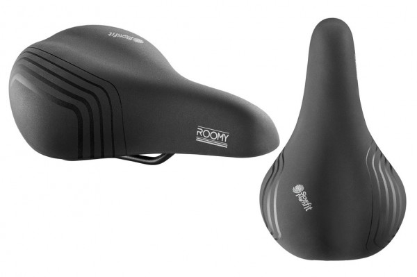 Sattel Selle Royal Roomy Classic schwarz,Herren,265x165mm,moderate,ca605g
