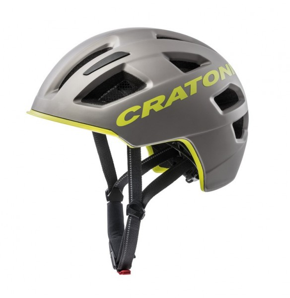 Fahrradhelm Cratoni C-Pure (City) Gr. S/M (54-58cm) anthrazit-lime matt