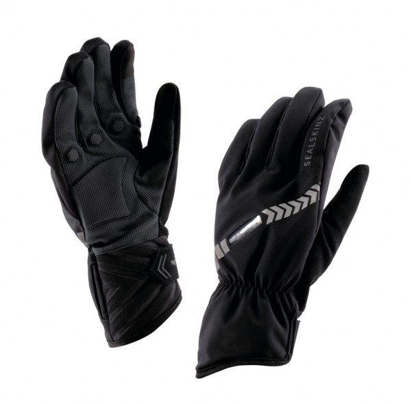 Handschuhe SealSkinz Halo All Weather Cycle schwarz Gr.M (9)