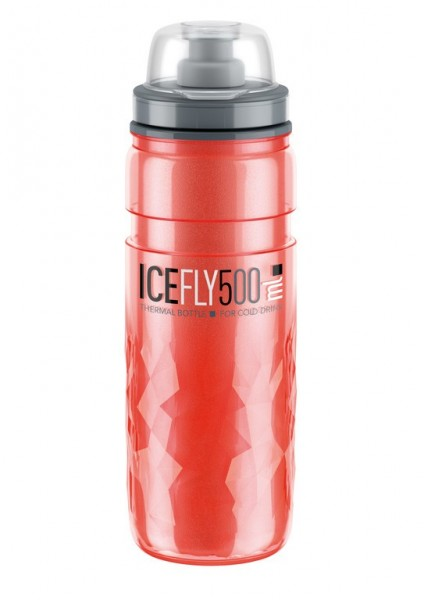 Thermaltrinkflasche Elite Icefly 500ml, rot